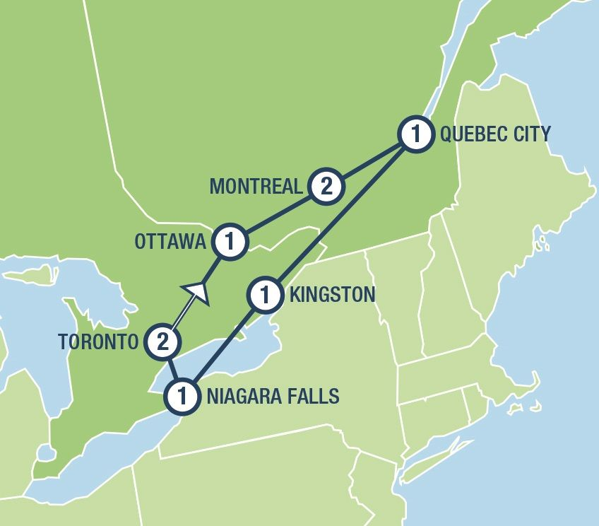 Eastern Canada Explorer Tours And Vacation Packages In Usa