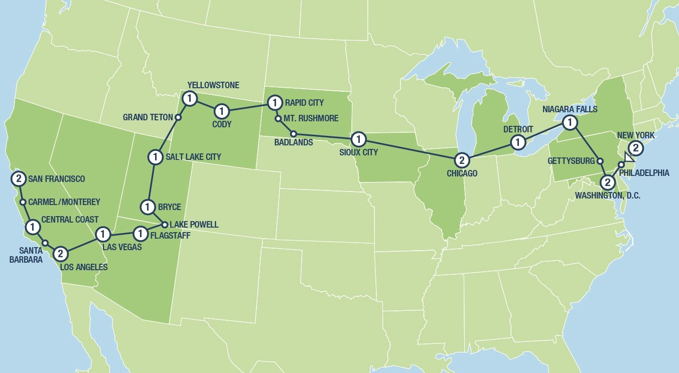 The Great American Road Trip Tours And Vacation Packages In Usa And Canada Tours Usa Com