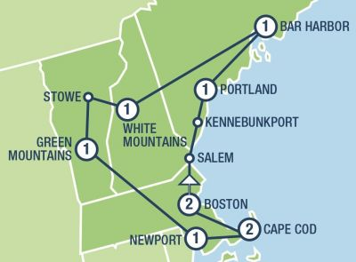 Boston And New England Tours And Vacation Packages In Usa And